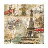 In Paris Giclee Print by Tyler Burke