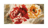 Pop Flowers Giclee Print by Sarah Ward