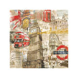 In London Giclee Print by Tyler Burke