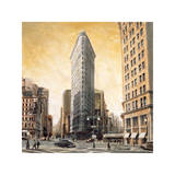 The Flatiron Building Giclee Print by Matthew Daniels