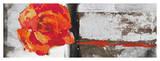 Metallic Pop Flower II Giclee Print by Sarah Ward