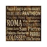 Roma Giclee Print by Luke Wilson