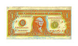 Dollar Bill Giclee Print by Dustin Chambers
