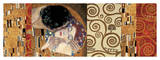 Deco Collage (from The Kiss) Impressão giclée por Gustav Klimt