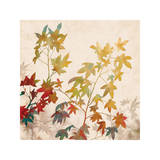 Turning Leaves II Giclee Print by Erin Lange