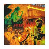 Free Jazz Giclee Print by Tyler Burke