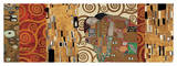 Deco Collage (from Fulfillment, Stoclet Frieze) Giclee Print by Gustav Klimt