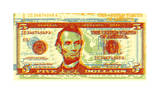 Five Dollar Bill Giclee Print by Dustin Chambers