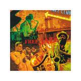 Tyler Burke - Free Jazz - Giclee Baskı