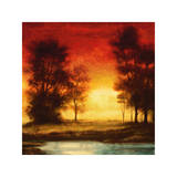 Evening Light II Giclee Print by Neil Thomas