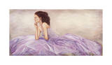 Donna in Rosa Giclee Print by Andrea Bassetti