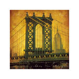 New York Romance Giclee Print by Julia Casey
