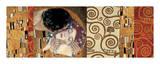 Gustav Klimt - Deco Collage (from The Kiss) - Giclee Baskı