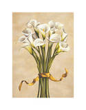 Bouquet Bianco Giclee Print by Lisa Corradini