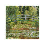 Le Pont Japonais, Giverny ジクレープリント : クロード・モネ