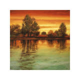 River Sunset I Giclee Print by Neil Thomas