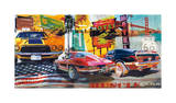 Muscle Cars Giclee Print by Ray Foster