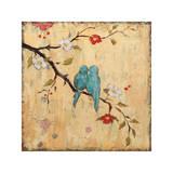 Love Birds II Giclée-tryk af Katy Frances