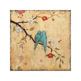 Love Birds II Giclee Print by Katy Frances