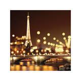 City Lights-Paris Giclée-Druck von Kate Carrigan