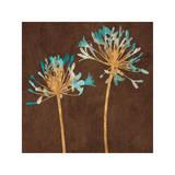 Teal Bloom II Giclee Print by Erin Lange