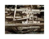 Locomotive Detail Giclee Print by Dylan Matthews