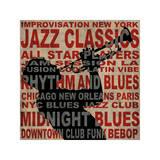Jazz I Giclée-tryk af Luke Wilson