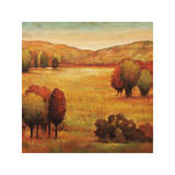 Hillside Meadow II Giclee Print by Jeffrey Leonard