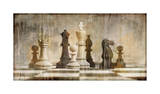 Chess Giclee Print by Russell Brennan
