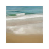 Surf and Sand II Giclée-tryk af John Seba