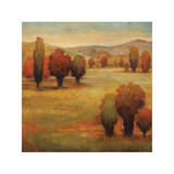 Hillside Meadow I Giclee Print by Jeffrey Leonard
