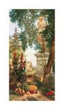 Panneau décoratif aux fruits Giclee Print by Charles Dugasseau