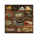 Well Traveled I Giclee Print by Russell Brennan