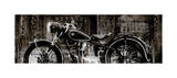 Vintage Motorcycle Impression giclée par Dylan Matthews