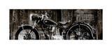 Vintage Motorcycle Giclee-vedos tekijänä Dylan Matthews