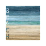 Beach Giclee Print by Luke Wilson