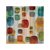 Suspended Gems II Giclee Print by Angela Perry
