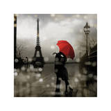 Paris Romance Wydruk giclee autor Kate Carrigan