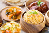 Biryani Rice or Briyani Rice, Fresh Cooked Basmati Rice, Delicious Indian Cuisine. Photographic Print by  szefei