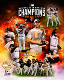 San Francisco Giants 2014 World Series Champions PF Gold Limited Edition Photo
