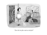 """Does this lens flare make me look fat?"" - New Yorker Cartoon Premium Giclee Print by Joe Dator"