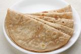 Homemade Fresh Wheat Flour Chapathi. Photographic Print by  susansam