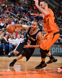 San Antonio Spurs v Phoenix Suns Photo af Barry Gossage
