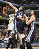 Memphis Grizzlies v Indiana Pacers Photo by Ron Hoskins