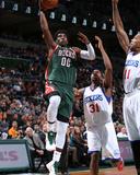 Philadelphia 76Ers v Milwaukee Bucks Photo by Gary Dineen