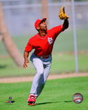 Willie McGee 1998 Action Photo