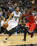 Chicago Bulls v Minnesota Timberwolves Foto af Jordan Johnson