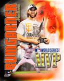Madison Bumgarner 2014 World Series MVP Portrait Plus Photo