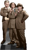 The Three Stooges - Sleuths Lifesize Standup Cardboard Cutouts