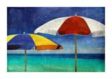 Beach Companions Giclee Print by Charlie Carter